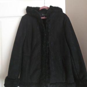 Braetan beautiful black suede  Jacket